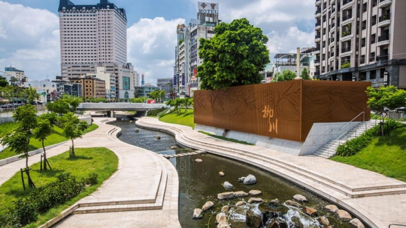 Taichung Liuchuan <br>Canal Waterfront